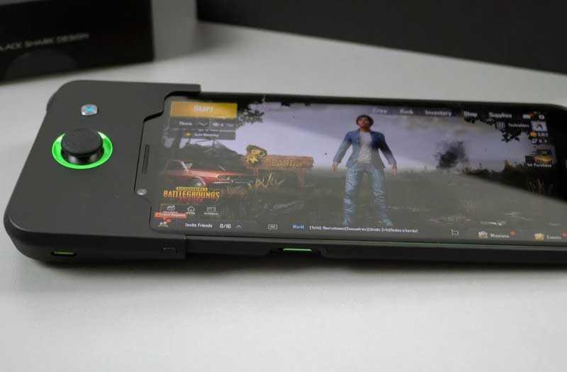 Xiaomi Black Shark в играх