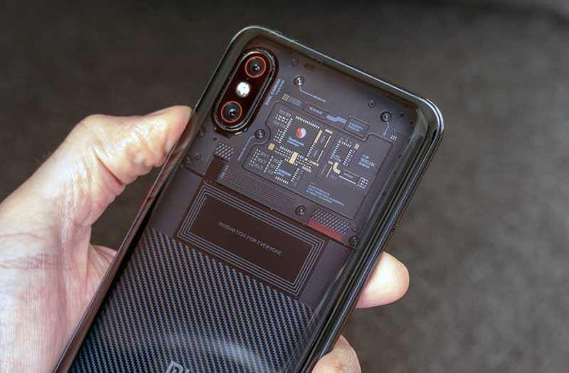 Xiaomi Mi 8 Pro компоненты
