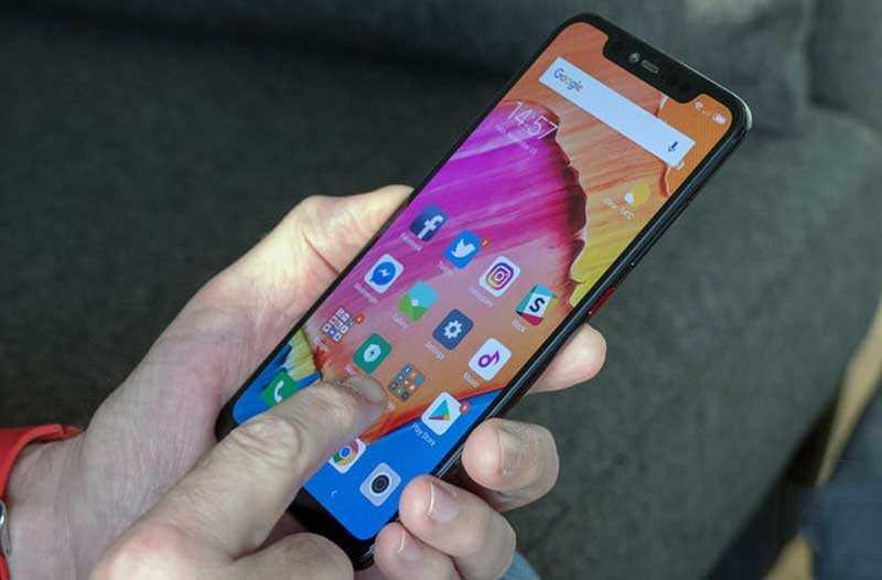 Xiaomi Mi 8 Pro сканер в экране
