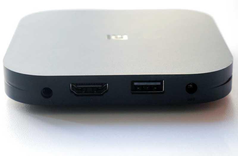 Xiaomi Mi Box S порты
