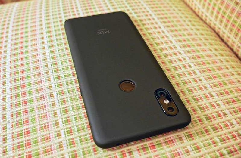 Xiaomi Mi Mix 3 камера