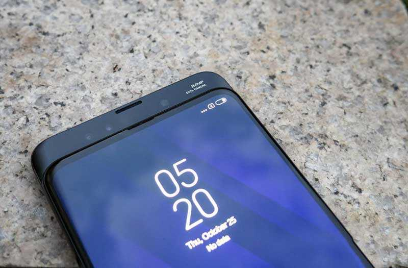 Xiaomi Mi Mix 3 передняя камера
