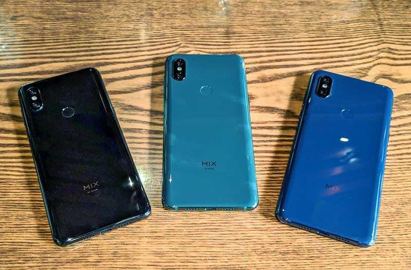 Сравнение Xiaomi Mi Mix 3
