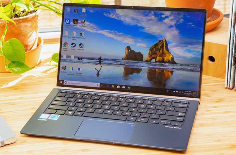 Дизайн Asus ZenBook 14