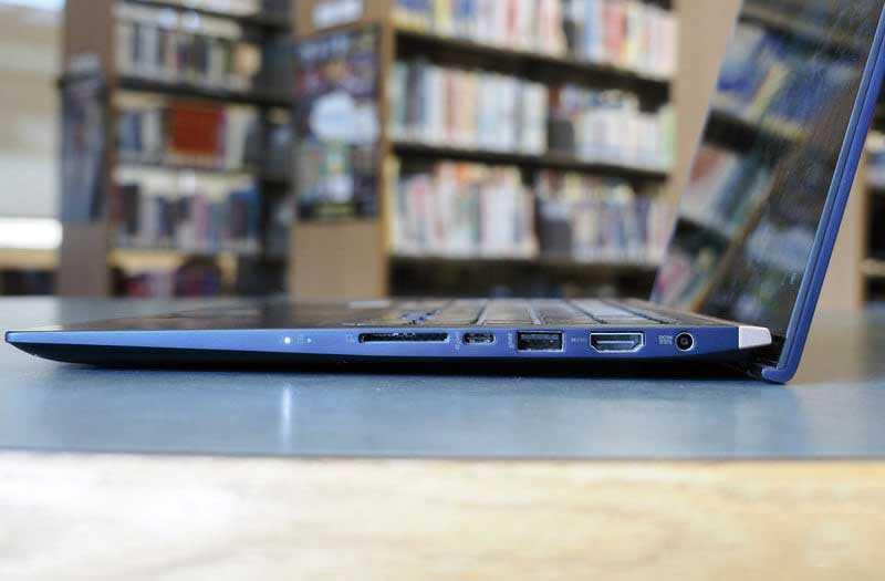 Asus ZenBook 15 UX533 разъёмы