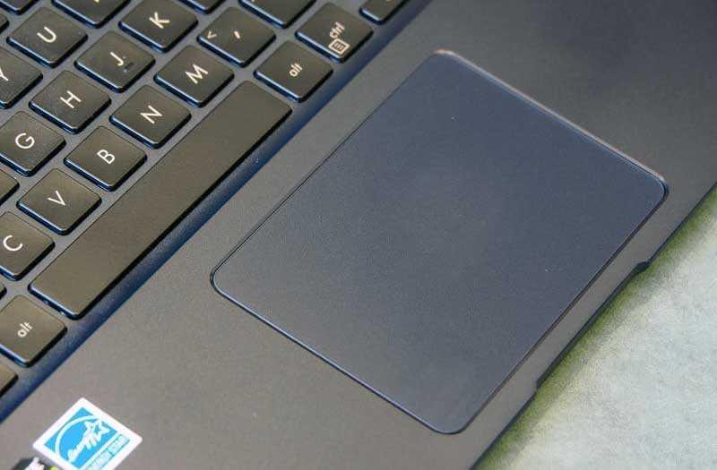 Asus ZenBook 15 UX533 тачпад