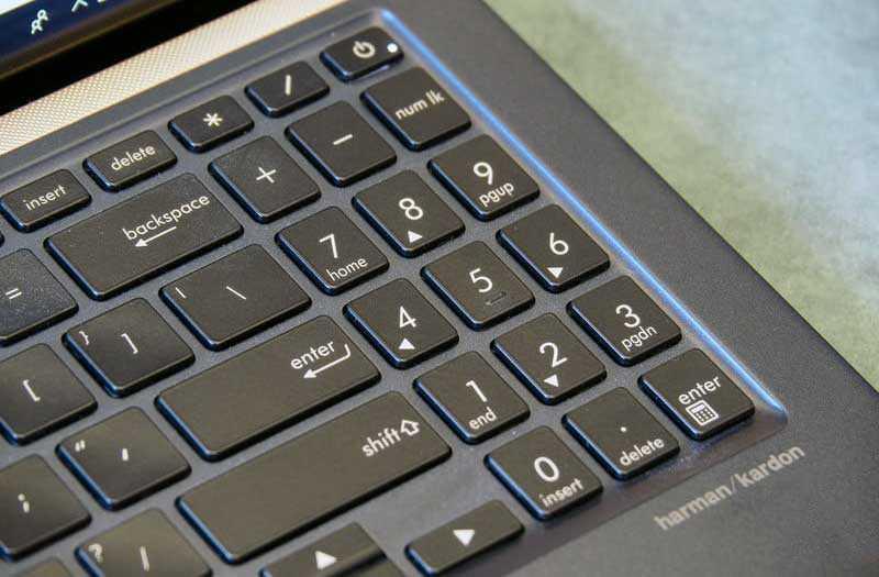Asus ZenBook 15 UX533 звук