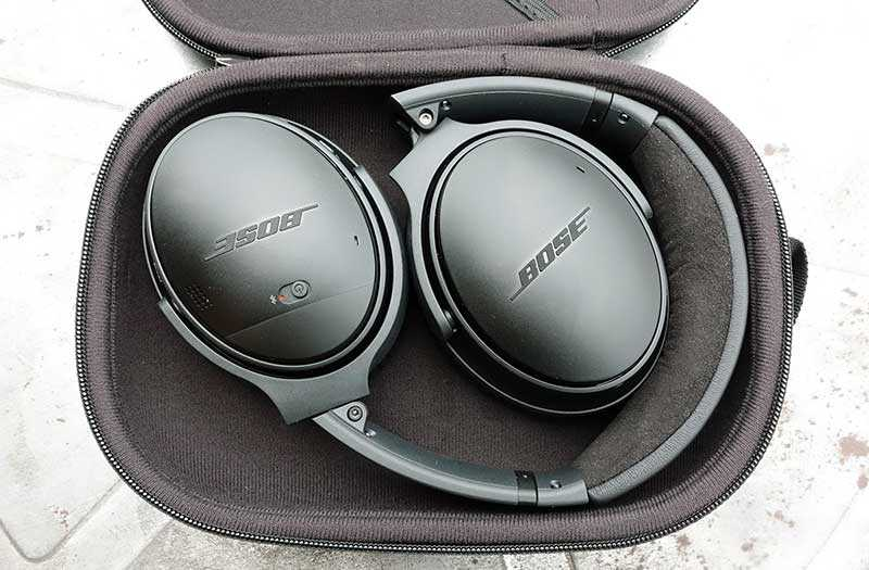 Тест Bose QuietComfort 35 II