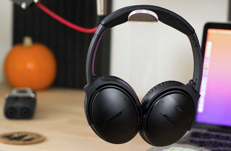 Bose QuietComfort 35 II из коробки