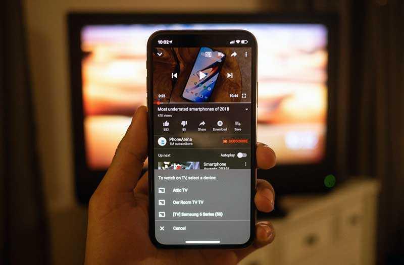 Google Chromecast 2018 настройка