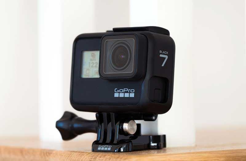 GoPro Hero 7 Black водонепроницаемость