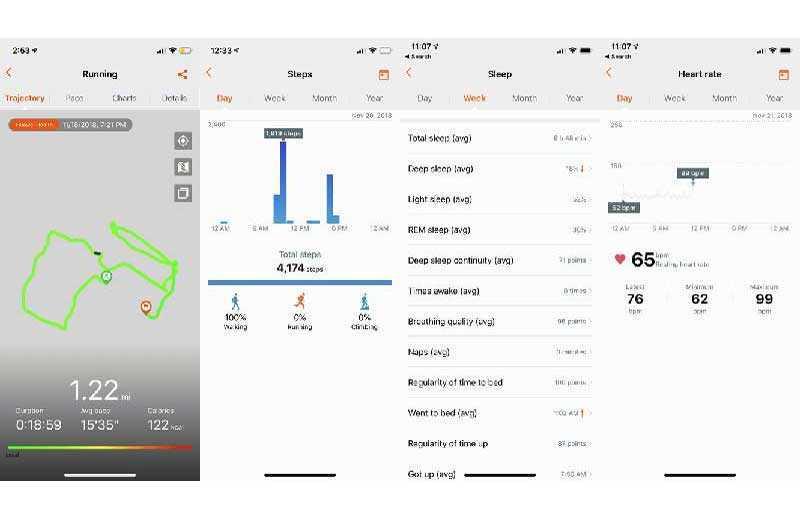 Приложение Huawei Band 3 Pro
