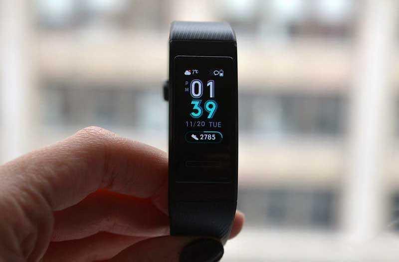 Huawei Band 3 Pro отслеживание фитнеса