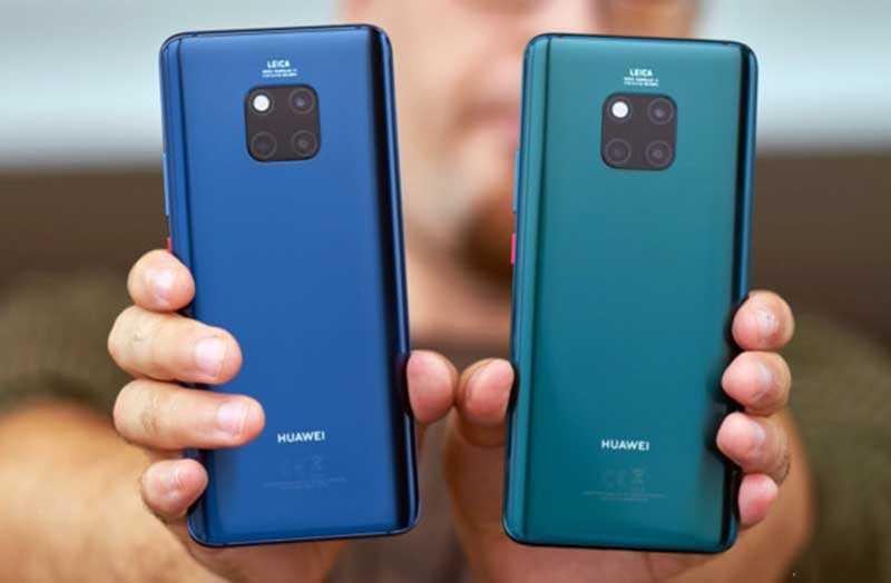Huawei Mate 20 и Huawei Mate 20 Pro