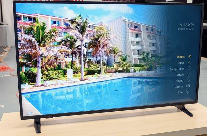 INSIGNIA NS-43DF710NA19 4K Ultra HD Smart LED TV HDR — 43 дюйма