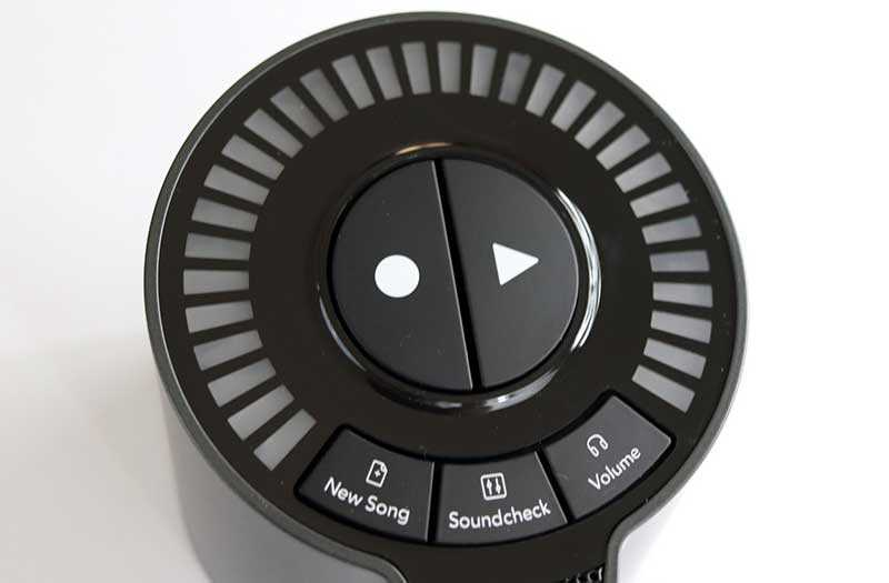 iZotope Spire Studio кнопки упправления