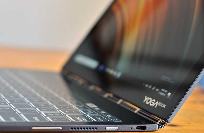 Lenovo Yoga Book C930 разъёмы