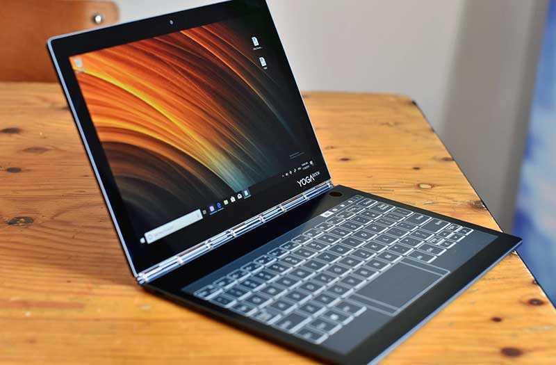 Обзор Lenovo Yoga Book C930 ноутбука с E-Ink клавиатурой — Отзывы TehnObzor