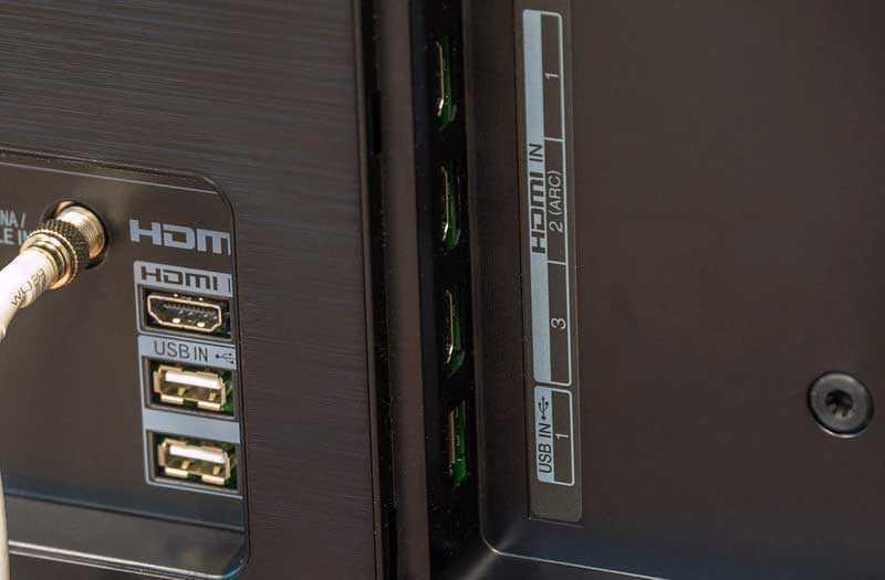 LG OLED TV E8 порты