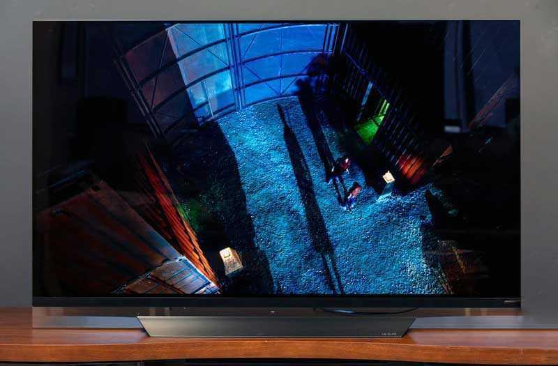 LG OLED TV E8 экран и частота