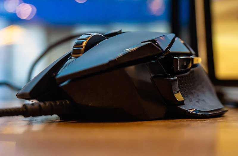 Обзор Logitech G502 HERO улучшенной игровой мыши — Отзывы TehnObzor