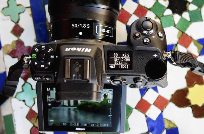 Nikon Z6 управление