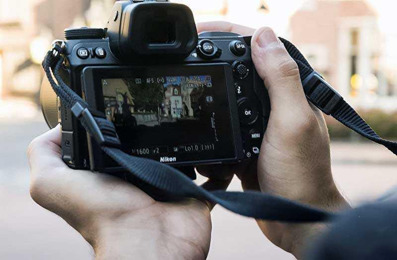 Nikon Z6 кнопки
