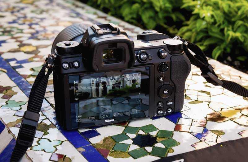 Nikon Z6 экран