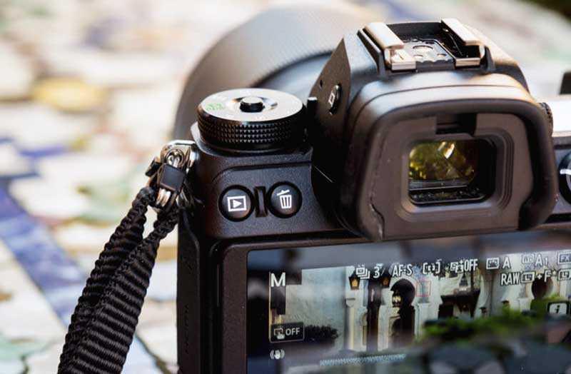 Nikon Z6 видоискатель