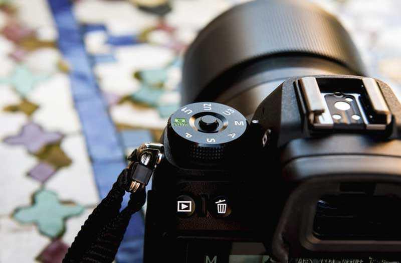 Nikon Z6 датчики