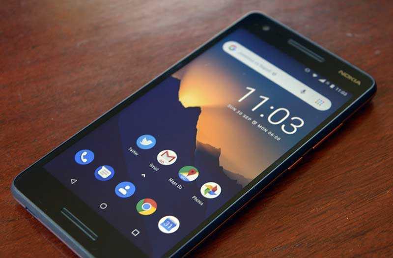 Nokia 2.1 на практике