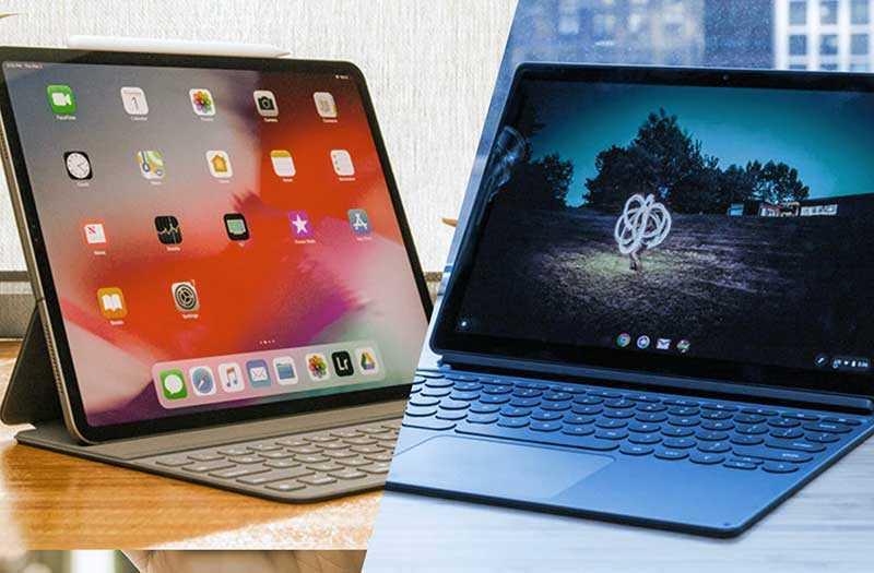 Лучший планшет и 2-в-1 — Сравнение Google Pixel Slate и Apple iPad Pro