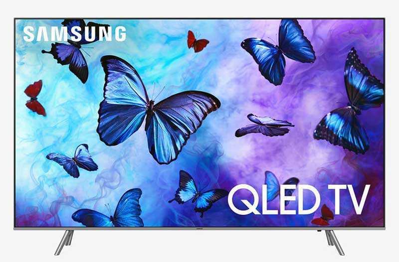 SAMSUNG QN75Q6FN 4K Ultra HD Smart QLED HDR TV — 75 дюйм