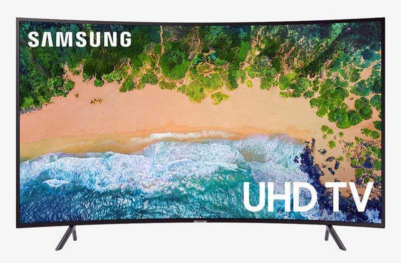 SAMSUNG UN55NU7300FXZA 4K Ultra HD Smart LED-TV — 55 дюйм