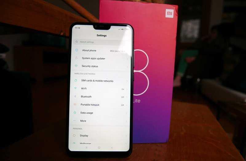 Характеристики Xiaomi Mi 8 Lite