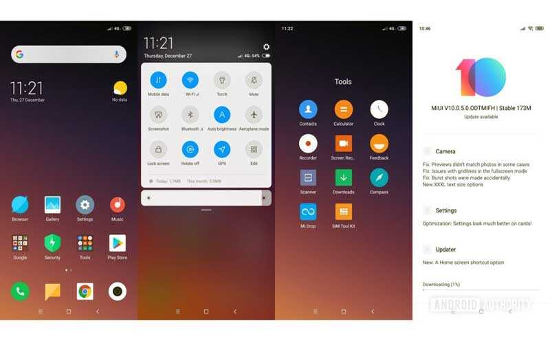 Xiaomi Mi 8 Lite система и ПО