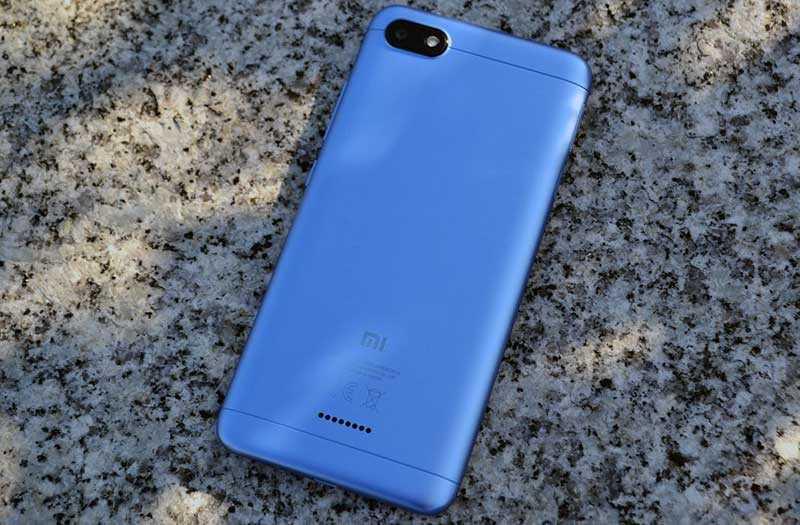 Xiaomi Redmi 6A сзади