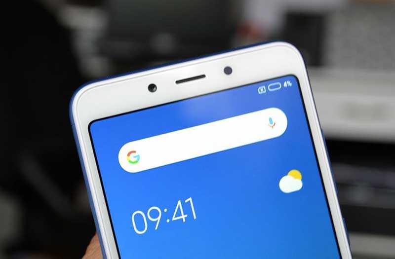 Xiaomi Redmi 6A сканер лица