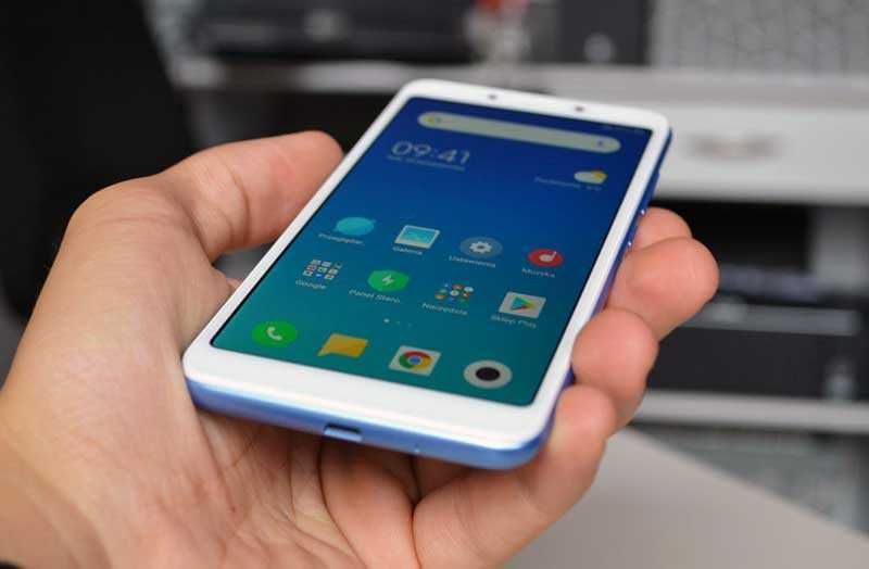 Xiaomi Redmi 6A интерфейс
