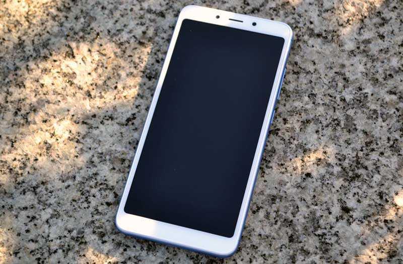 Xiaomi Redmi 6A дизайн