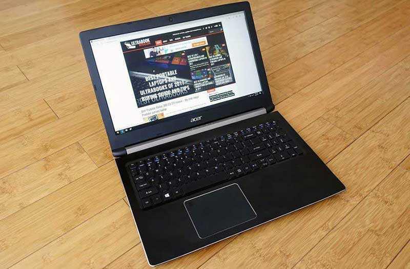 Обзор Acer Aspire 7 A715-72G
