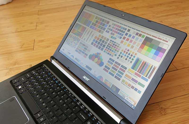 Acer Aspire 7 A715-72G экран