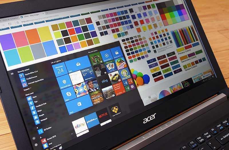 Acer Aspire 7 A715-72G панель