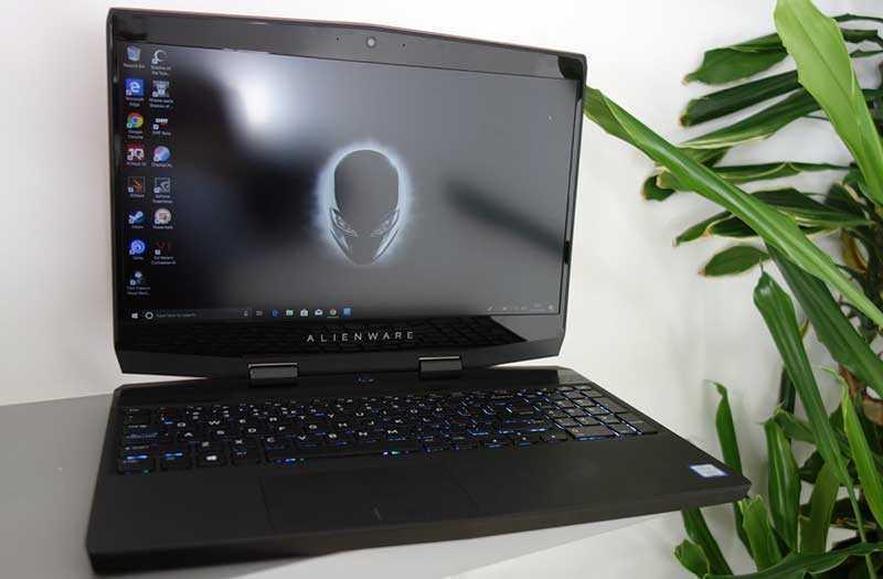 Alienware m15 дизайн