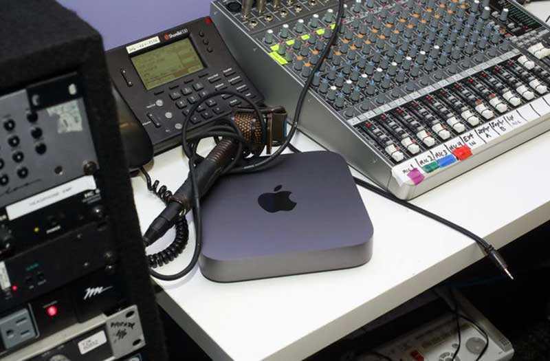 Apple Mac Mini 2018 использование