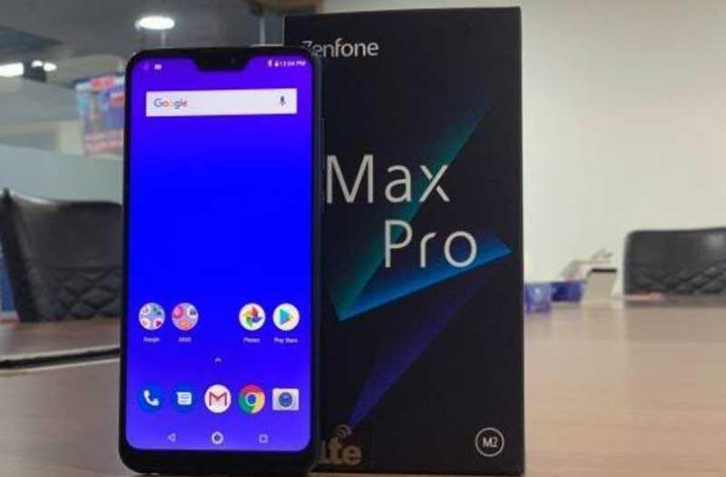 Смартфон Asus Zenfone Max Pro M2