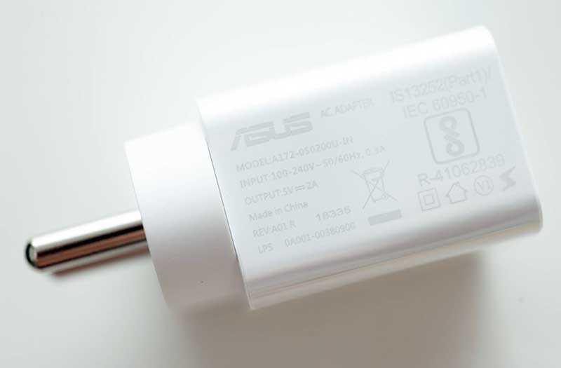 Asus Zenfone Max Pro M2 зарядка