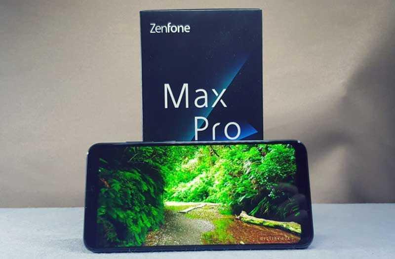 Asus Zenfone Max Pro M2 обзор