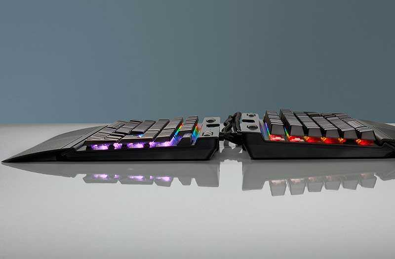 Тест Corsair K70 RGB MK.2 Low Profile