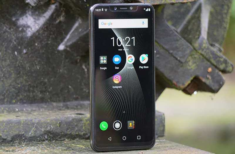 Elephone A5 экран